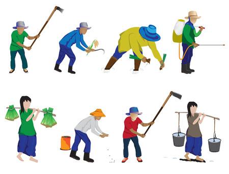 agriculture cartoon vector design Illustration