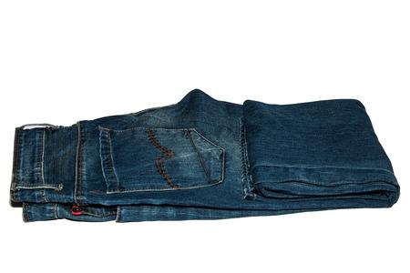 slacks: jean on paper background