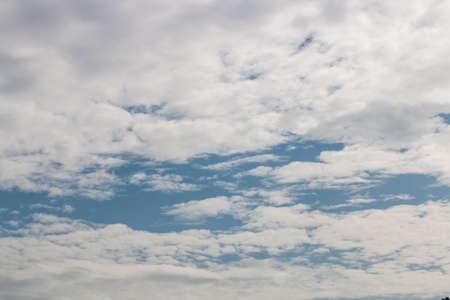nimbi: white cloud on sky Stock Photo