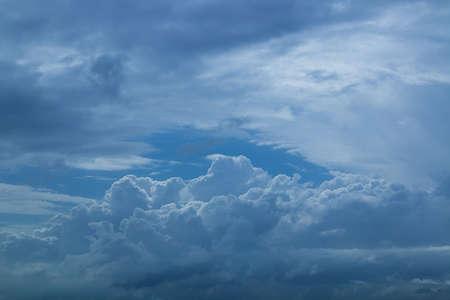 atmospheric phenomena: cloud on sky