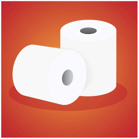 paper roll: paper roll vector design