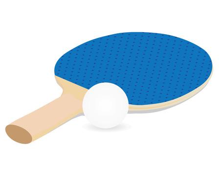 tennis table bat equipment vector design