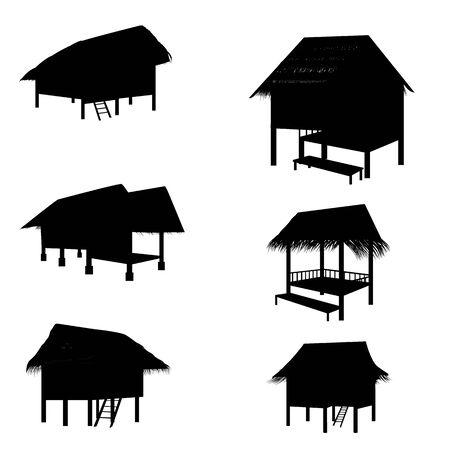 hut: hut vector design