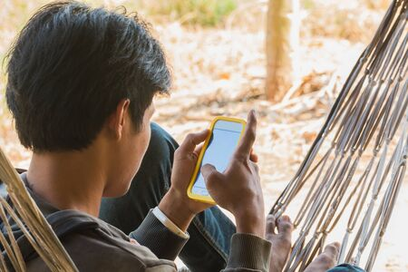 mobile communication: communication by mobile phone