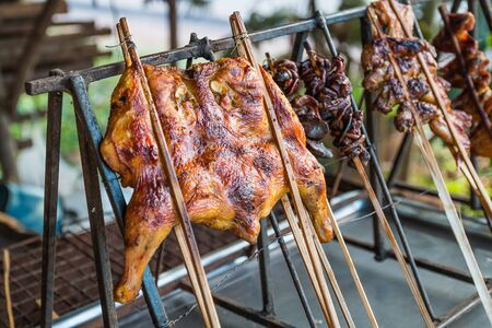 broil: grilled chicken