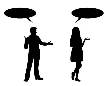 talk shape vector design