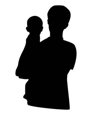 forme: silhouette shape vector design Illustration