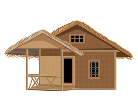 lovely hut vector design Ilustrace
