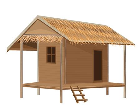 Encantador hut vector de diseño Foto de archivo - 81520683