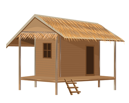 lovely hut vector design Illustration