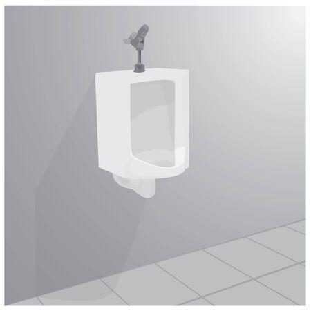 man toilet vector design