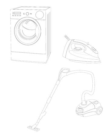 homework equipment vector design Çizim