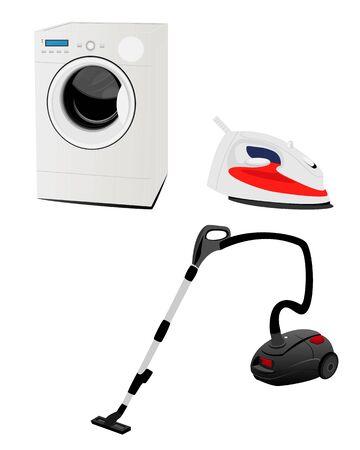 Equipment for homework vector design Çizim