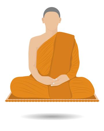 novice: Monk meditation design