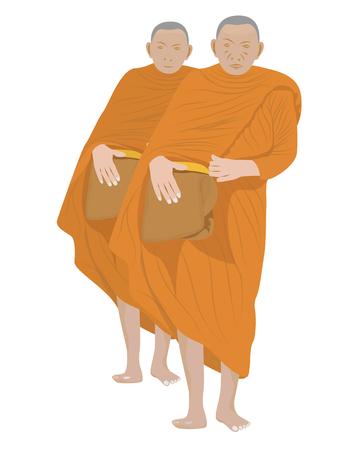 the monk vector design