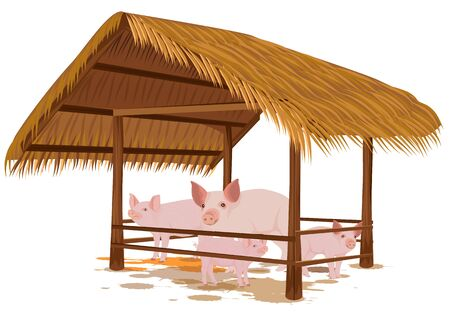 Pigs in a corral  design