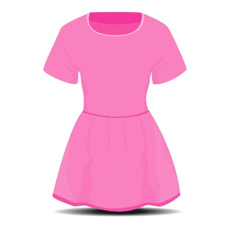 isolated dress vector design Illustration