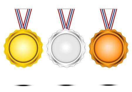 award coin vector design