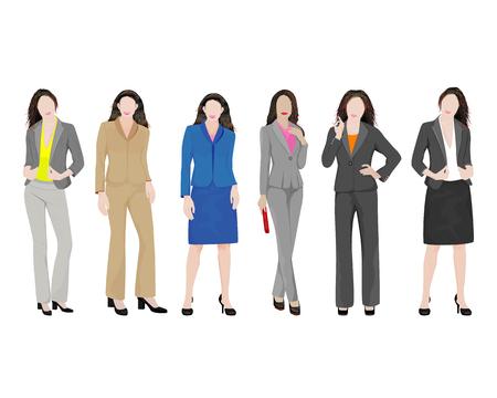 businesswoman vector design