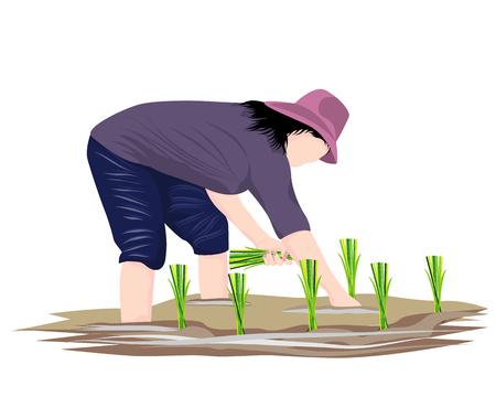 farmer shape vector design