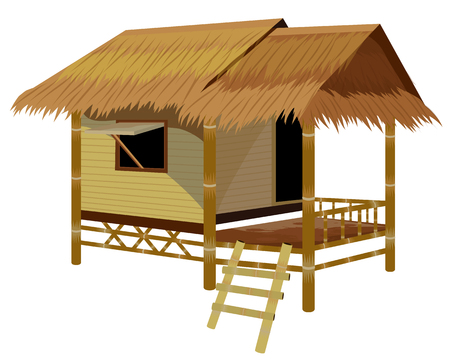 444 Bamboo Hut Stock Vector Illustration And Royalty Free Bamboo