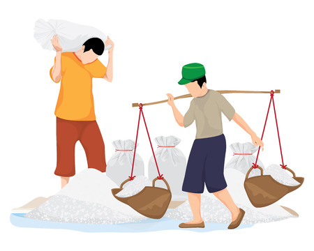 agriculturist harvest salt vector design 스톡 콘텐츠 - 117837575
