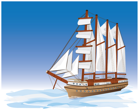 the viking boat vector design