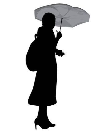 silhouette woman cartoon shape vector design