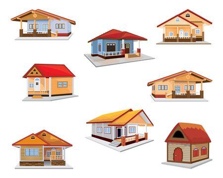 home vector design Illusztráció