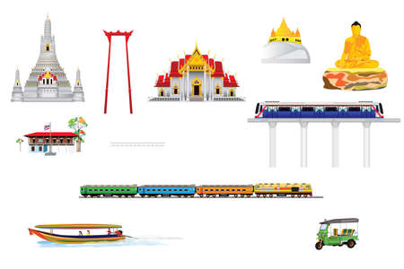 amazing Bangkok of thailand vector design