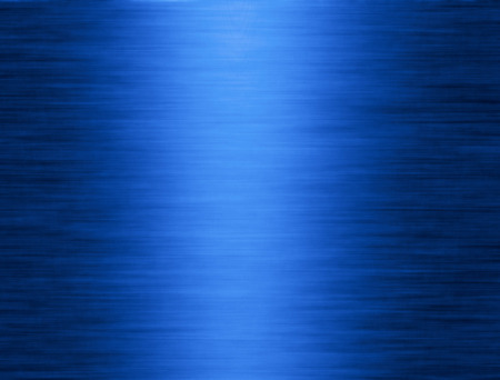 Metal texture blue background