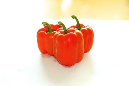 red pepper - original for editing, Seoul, Korea Stock Photo