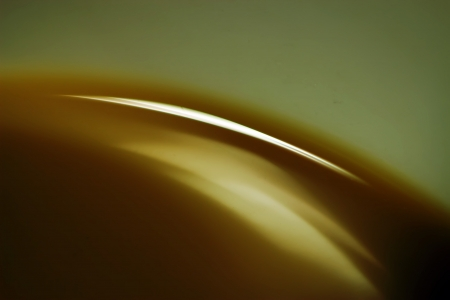 coffee closeup, color and light in a cup, seoul, Korea  Stock Photo