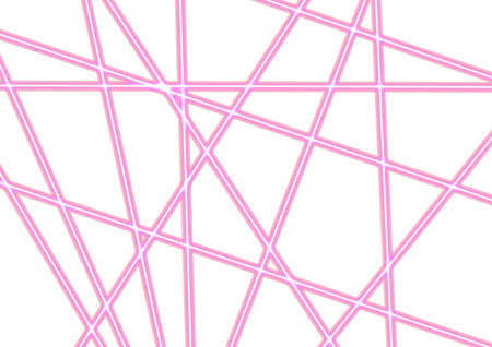 Pink Illuminated Straight Neon Lines Background. Use for App, Postcards, Packaging, Items, Websites and Material-illustration. 免版税图像