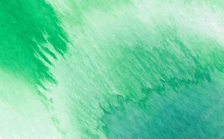 Abstract green watercolor painting background 免版税图像