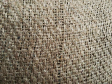Marco Hessian sackcloth woven texture pattern background.