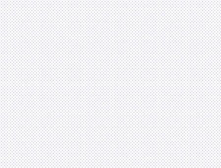Blue dot halftone texture pattern isolated on white background - illustration