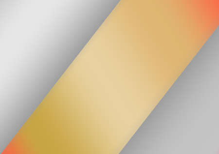 Geometric gradient metallic gray and yellow gold - orange quadrilaterals background. Use for Postcards, Packaging, Items, Websites,App and Material-illustration 免版税图像