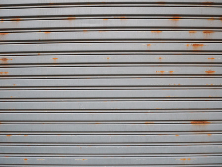 metal fence: Old metal fence for background