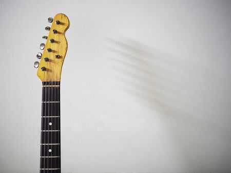 tercet: Vintage electric guitar Stock Photo