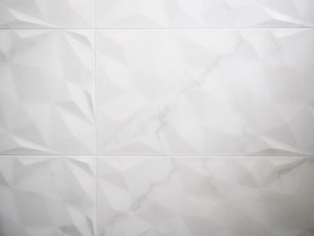 bathroom tiles: White tiles in bathroom Stock Photo