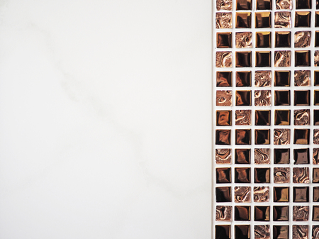 bathroom tiles: Close up of bathroom tiles
