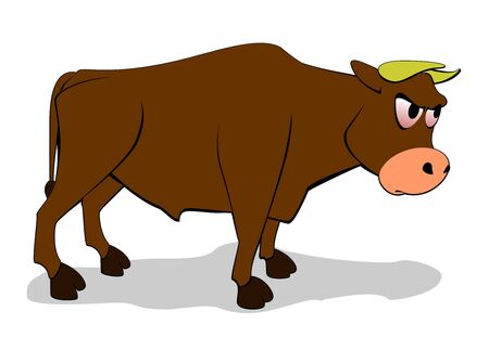 feeds: vector cartoon beef Illustration