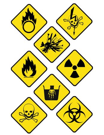 oxidizer: danger signs romb 2