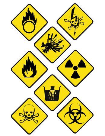 oxidizer: danger signs romb 2
