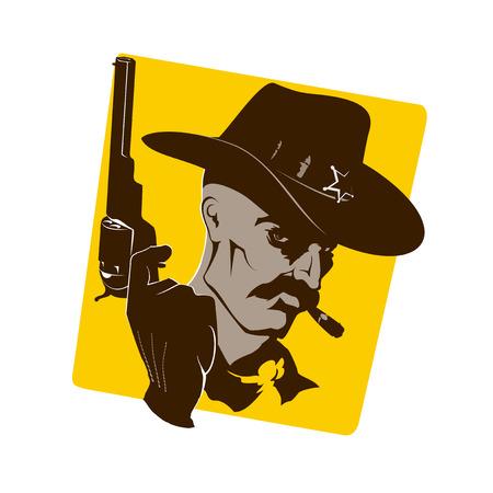 revenge: sheriff portrait