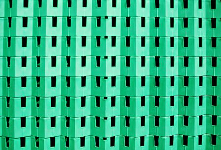 Abstract plastic background green color industrial background
