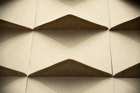 Minimalist Composition white kraft brown paper envelope