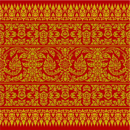 decorative element: Thai Ornament Backgroud
