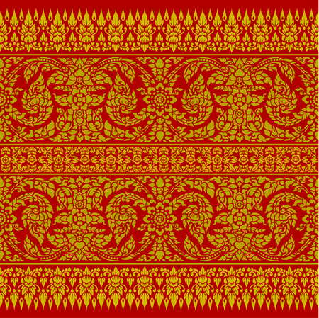 Thai Ornament Backgroud
